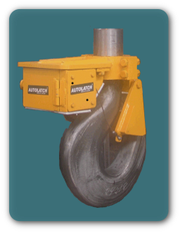 Allows safe unhooking in areas not otherwise accessible for Motorized rotating crane hook